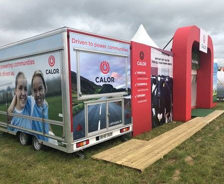 Calor Stand at the National Ploughing Championships 2019